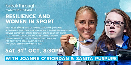 Resilience and Women in Sport: Joanne O'Riordan and Sanita Puspure tickets