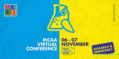 Research & Democracy - The 1st MCAA virtual conference tickets