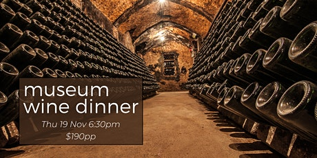 Museum Wine Dinner tickets