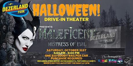 HALOWEEN DRIVE-IN WITH DISNEY'S  MALEFICENT: MISTRESS OF EVIL tickets