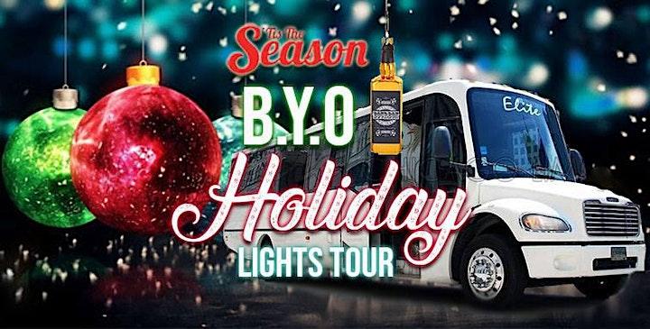 Chicago's BYOB Party Bus Holiday Lights Tour 'Tis The Season - 2021 image