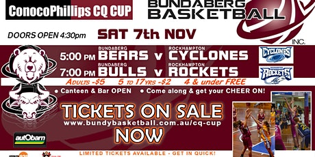 CQ CUP HOME GAME - Bundaberg vs Rockhampton (Round 7) tickets