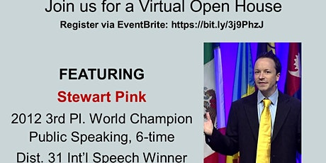 Virtual Open House with Don't Stop Talking Toastmasters tickets