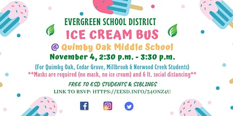 Ice Cream Day for Quimby, Cedar Grove, Millbrook & Norwood Creek Students tickets