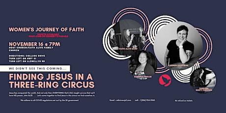 Finding Jesus in a Three-Ring Circus tickets