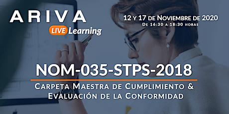 NOM-035-STPS-2018 - Carpeta Maestra  &  Evaluación de la Conformidad entradas