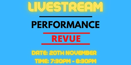 Performance Revue tickets