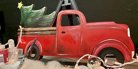 Vintage Truck Holiday Paint Night w/ Shawn Forton of Unlimited Art tickets