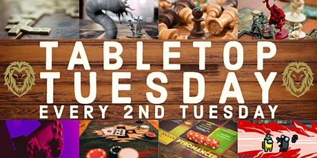 Tabletop Tuesday at Shezmu Cellars tickets