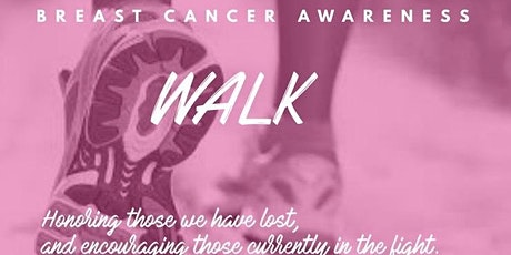 1st  Annual Breast Cancer Awareness Faith  Walk  For The Cure tickets