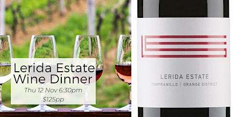 Lerida Estate Wine Dinner tickets