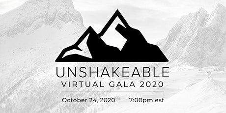 Unshakeable Jacksonville Gala 2020 - Announcement tickets