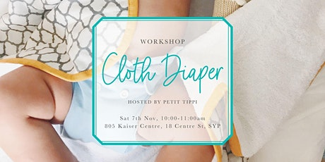Nov Cloth Diaper Workshop | Petit Tippi tickets