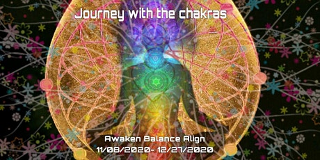 Journey With The Chakras.		   (single class or  series) tickets