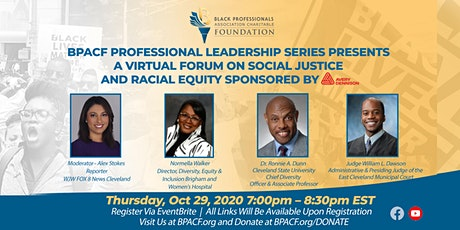 BPACF Presents A Virtual Forum on Social Justice and Racial Equity tickets