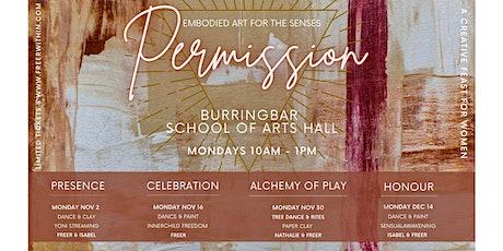 Permission embodied art series - Vol 1 PRESENCE tickets