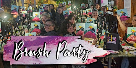 Brush Party End-of-Year Christmas Party tickets