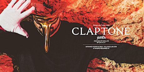 Claptone at It'll Do Club tickets