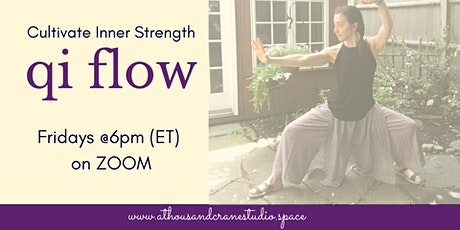 Qi Flow:  A Hybrid class of Taichi, Qi Gong + Breathwork tickets