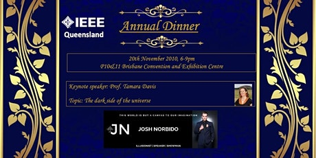 IEEE AGM Dinner tickets