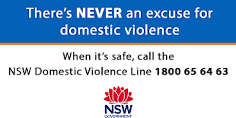 What can the NSW Domestic Violence line do for you and your patients/client tickets