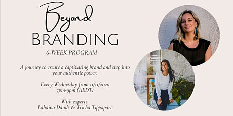 BEYOND BRANDING 6-WEEK GROUP PROGRAM tickets