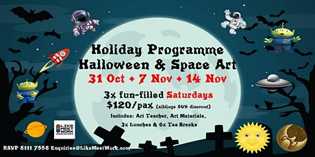 Holiday Programme: Halloween & Space Art tickets