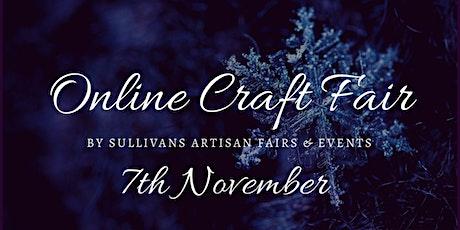 November Online Artisan Craft Fair  tickets