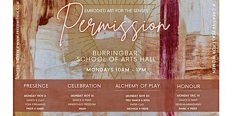 Permission embodied art series - Vol 2 CELEBRATION tickets