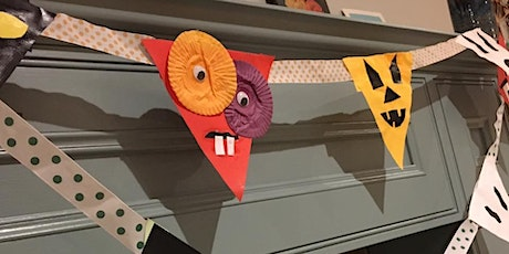 Halloween bunting & spooky lanterns - donation only day! tickets
