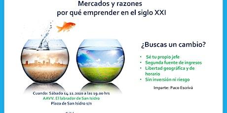 MERCADOS Y RAZONES PORQUE EMPRENDER EN EL SIGLO XXI entradas