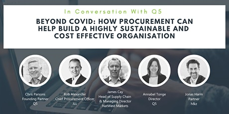 How Procurement can help build a highly sustainable and cost effective org tickets