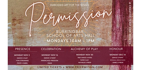 Permission embodied art series - Vol 3 ALCHEMY OF PLAY tickets