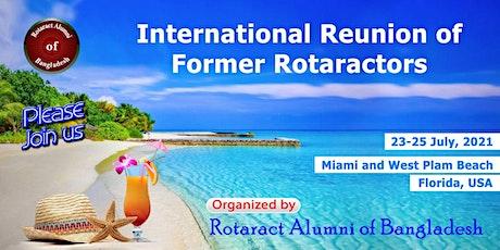 International Reunion of Former Rotaractors tickets