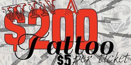 $200 tattoo tickets
