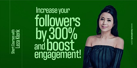 (Online) Boost engagement and increase followers with your Personal Brand. tickets