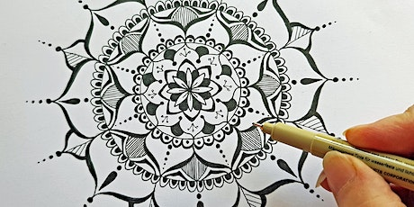 Mandala drawing for beginners tickets