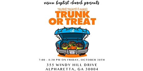 Trunk-or-Treat presented by Vision Baptist Church tickets