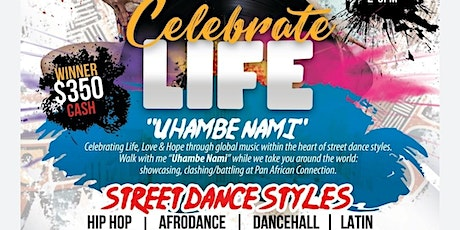 CELEBRATE LIFE 'UHAMBE NAMI' tickets