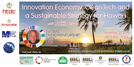 Innovation Economy and a Sustainable Strategy for Hawai'i | 2020 GEW Aloha tickets