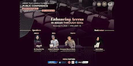 AYIC Public Conference: Enhancing Access in ASEAN through SDGs tickets