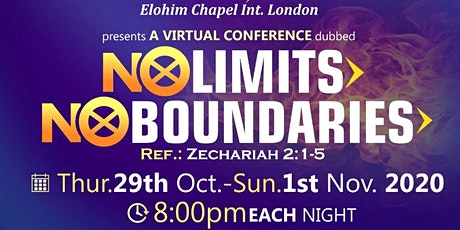 No Limits No Boundaries Conference tickets