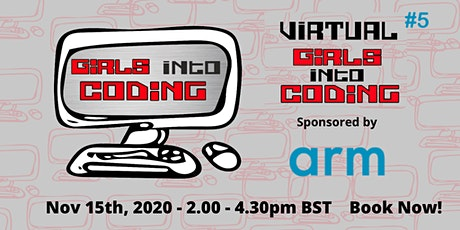 Virtual Girls Into Coding #5 ! Join us & Get involved! tickets