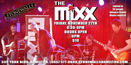 The Mixx LIVE at Stonewalls tickets