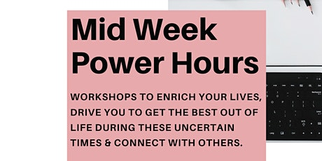 Midweek Power Hour: Learn how to build positive daily habits starting today tickets