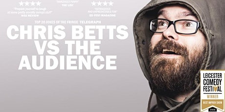 Chris Betts Vs The Audience Live on a Computer! tickets
