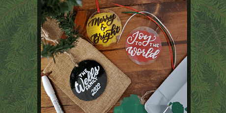 Hand Lettered Ornament Workshop tickets