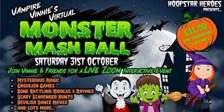 Vampire Vinnie's Virtual Monster Mash Ball tickets