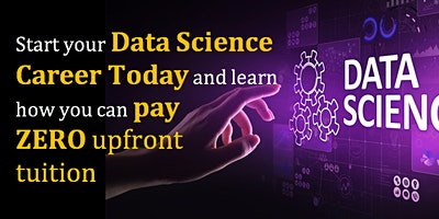 ONLINE EVENT: Free Data Information Science Webinar