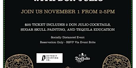 Dia De Los Muertos Sugar Skull Painting with Don Julio tickets